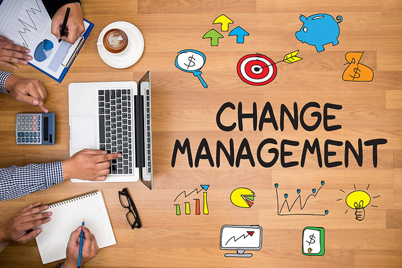 process of change management